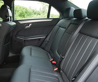 e class rear interior