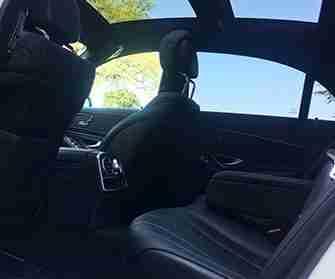 merc s class interior