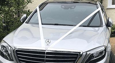 Chauffeur for wedding in Surrey